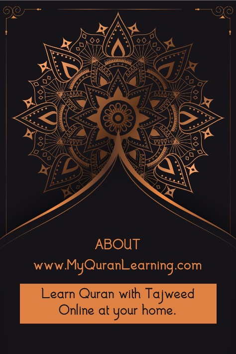 about my quran learning