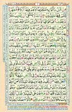 Learn Quran with Tajweed Juz 01 Page 06