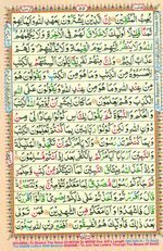 Learn Quran with Tajweed Juz 03 Page 55