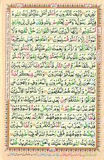 Learn Quran with Tajweed Juz 04 Page 58