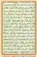 Learn Quran with Tajweed Juz 05 Page 83