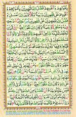 Learn Quran with Tajweed Juz 05 Page 86