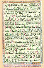 Learn Quran with Tajweed Juz 05 Page 87