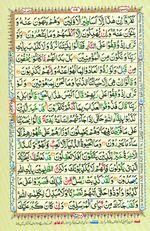 Learn Quran with Tajweed Juz 07 Page 119