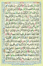 Learn Quran with Tajweed Juz 07 Page 125