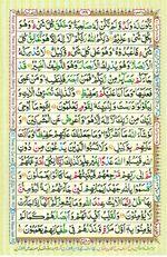 Learn Quran with Tajweed Juz 07 Page 128