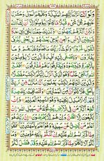 Learn Quran with Tajweed Juz 08 Page 129