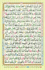 Learn Quran with Tajweed Juz 08 Page 131