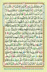 Learn Quran with Tajweed Juz 08 Page 132