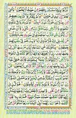 Learn Quran with Tajweed Juz 09 Page 158