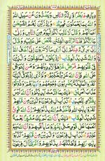Learn Quran with Tajweed Juz 10 Page 166