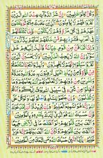 Learn Quran with Tajweed Juz 10 Page 167