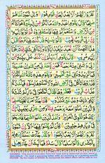 Learn Quran with Tajweed Juz 12 Page 207