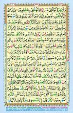 Learn Quran with Tajweed Juz 13 Page 224