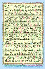 Learn Quran with Tajweed Juz 14 Page 248