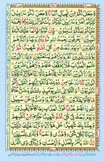 Learn Quran with Tajweed Juz 14 Page 250