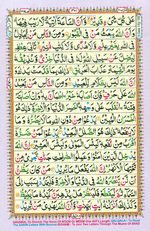 Learn Quran with Tajweed Juz 17 Page 301