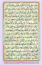 Learn Quran with Tajweed Juz 18 Page 313