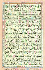 Learn Quran with Tajweed Juz 19 Page 341
