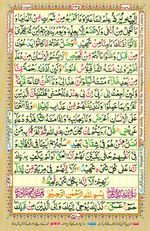Learn Quran with Tajweed Juz 25 Page 435
