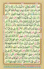 Learn Quran with Tajweed Juz 25 Page 440